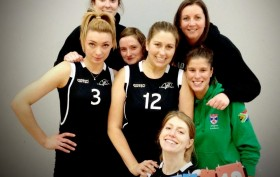 Jets Womens Volleyball Team beat Troon